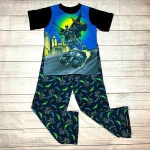 Batman The Dark Knight Boys 2 Piece Fleece Pajamas